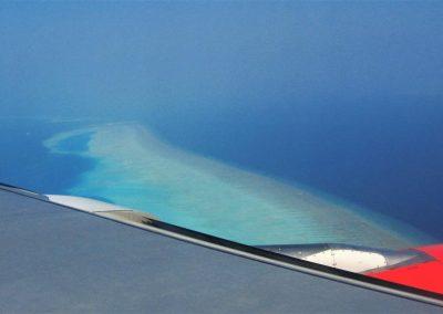 Malediven-Aus-Der-Luft